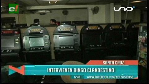 Intervienen casas de juego clandestinas y decomisan más de 80 máquinas