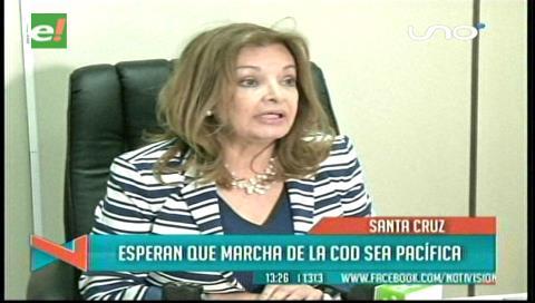 Santa Cruz: El TDJ afirma estar abierta al diálogo con la COD