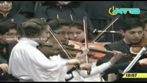 La Sinfónica de El Alto interpretó la música de la Guerra de la Galaxias