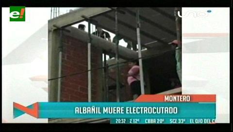Montero: Muere tras recibir una descarga eléctrica