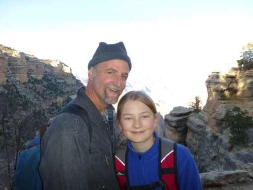 Jesse & Eric at the top of the Bright Angel Trail (10 miles of up)