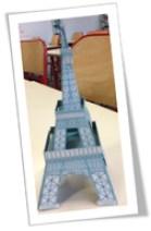 Coloriage de Paris à la Bout de gomme