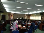 Rapat persiapan Kokur yang berlangsung di Aula Harifin A. Tumpa Fakultas Hukum Universitas Hasanuddin (FH-UH), Rabu (25/10). Snl