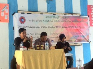 Kegiatan penyuluhan hukum di Sekolah Menengah Atas (SMA) Negeri 9 Makassar.Mef