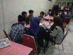 Foto kunjungan redaksi pengurus LPMH-UH di Media Alagraph bertempat di Warkop Rumah Independen, Jl. Toddopuli 7, Makassar, (13/1). Rst