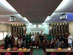 Tim Kemahasiswaan FH Unud melakukan kunjungan kerja ke FH Unhas di Ruang Promosi Doktor Abidin Farid FH-Unhas, pada Rabu (14/11).
