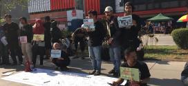 Jurnalis dan Masyarakat Sipil Makassar Gelar Aksi Dukung IndonesiaLeaks