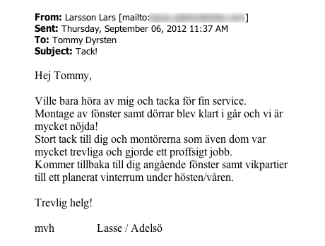 9 Ekstrands referens Lasse