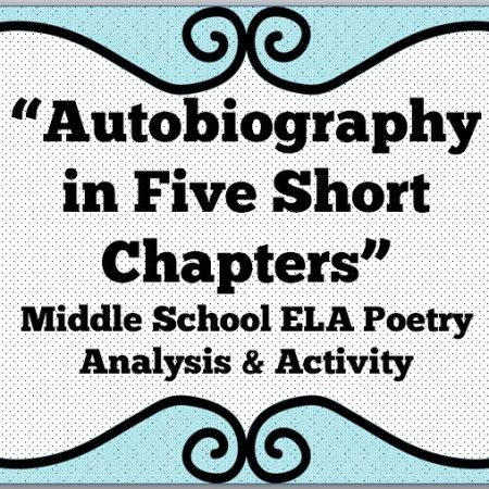 autobiography in five short chapters cover