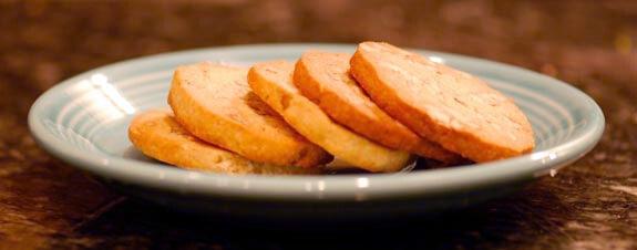 Paleo Peanut Butter Shortbread Cookies
