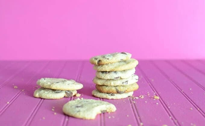 Paleo Excessively Good Chocolate Chip Cookies
