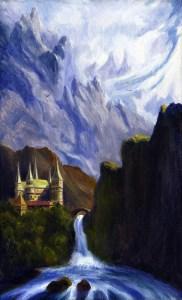 El Hermoso Valle de Rivendel, según Jef Murray