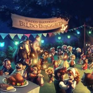 Renato Giacomini - La fiesta de Bilbo - copia