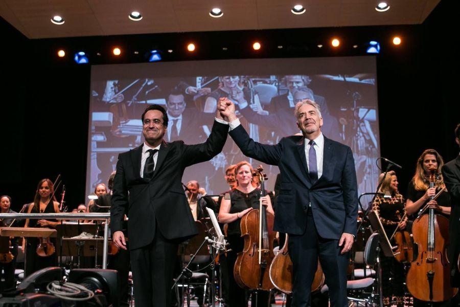 Diego Navarro y Howard Shore
