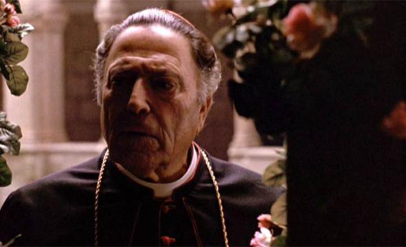 Raf Vallone interprete a Juan Pablo I en 'El Padrino III'