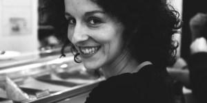 La actriz y creadora del proyecto, María San Miguel. Foto de Juan Carlos Mora.
