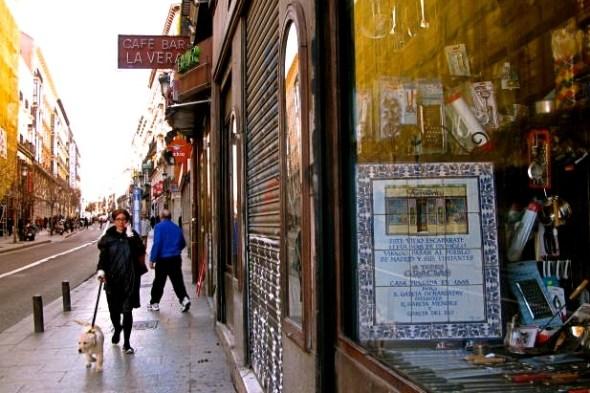 Calle de Atocha. Foto: Ana Esteban.