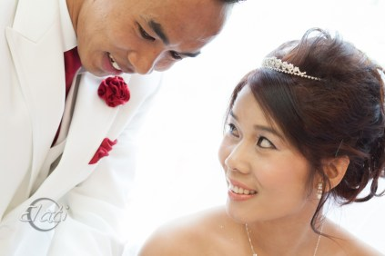 Burmese-Chin Wedding Couple