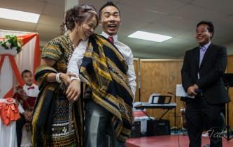 Burmese Wedding Couple Overjoyed
