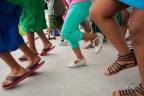 Ethiopian kids dancing