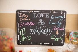 Wedding chalk board signs