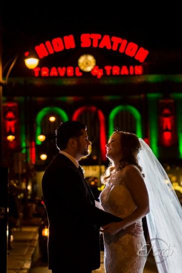 Union Station Christmas Wedding