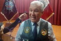 Gerente de Seguridad Ciudadana de la Municipalidad Provincial de Arequipa (MPA), Marcos Hinojosa Requena.