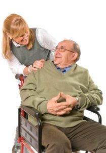 caregiving, caring for a parent