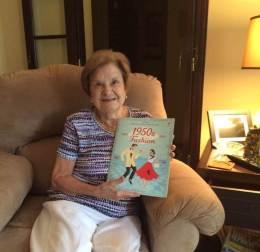 Joy's Mom and sticker book