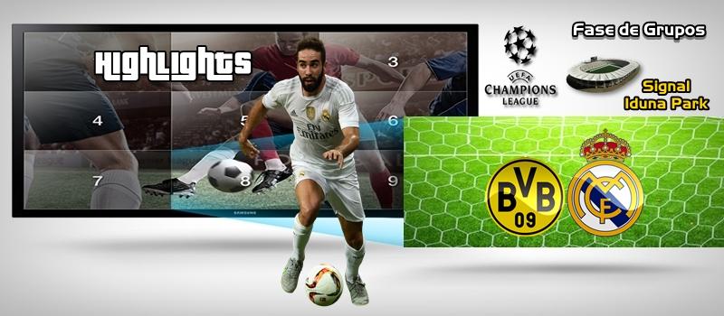 Highlights | Borussia Dortmund vs Real Madrid | Jornada 2 | Fase de Grupos | UCL