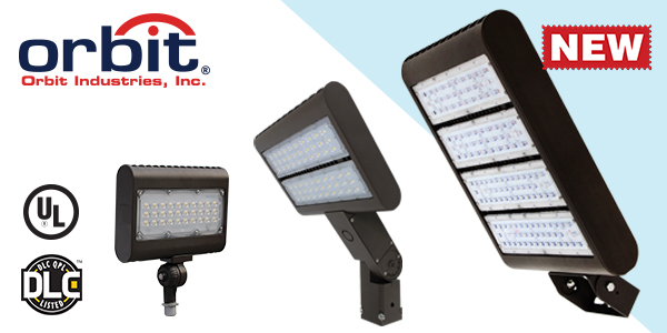 Orbit Expands LFL6 Flood Light Series To Include Additional Wattages!