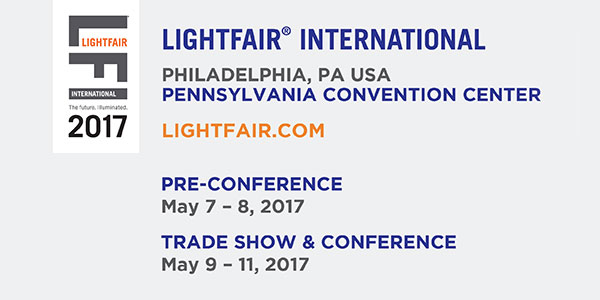 New Knowledge Connects the Industry to the Future at LIGHTFAIR International 2017 Conference