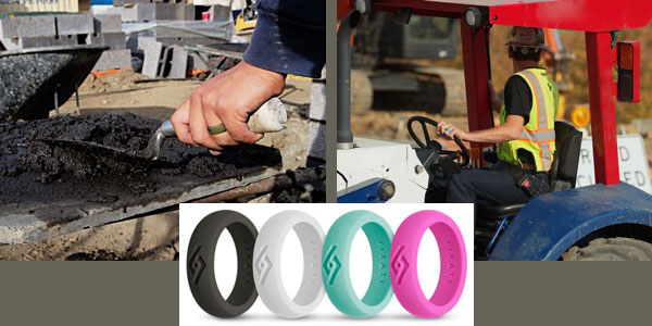All-New Fixate Fx8 Men's & Women's Silicone Wedding Rings