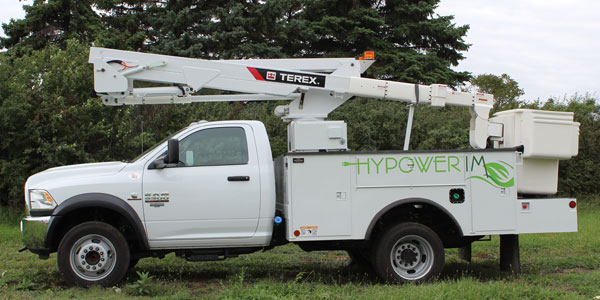 HyPower IM from Terex Expands Economical Green Fleet Options for Electric Co-Ops