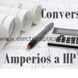 Como convertir de Amperios  a HP