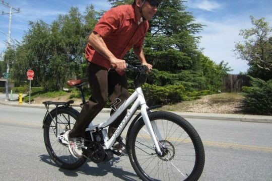 The NTS Works Fat Free mid drive electric bike.