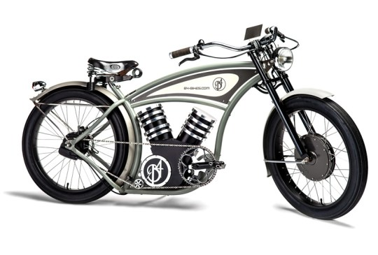 B4 electric cruiser bike.