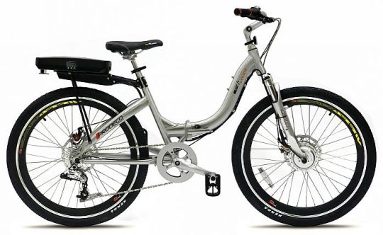 ProdecoTech Stride folding electric bike.
