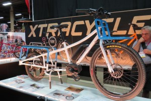 xtracycle bosh edgerunner electric cargo bike