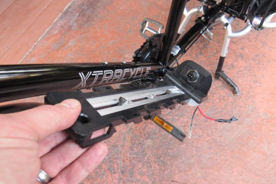Dillenger Bafang downtube battery mount