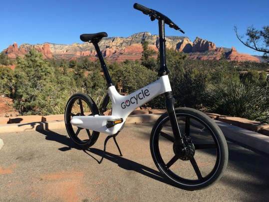 Gocycle side