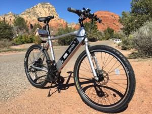 GenZe Sport electric bike sideview