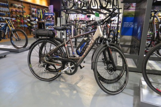 giant bicycles electric bikes