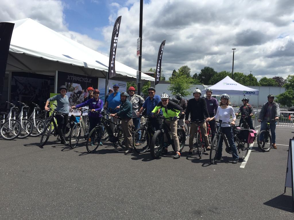 Portland Electric Bike Expo 4