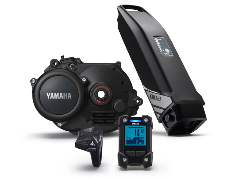Yamaha pwx electric bike groupshot