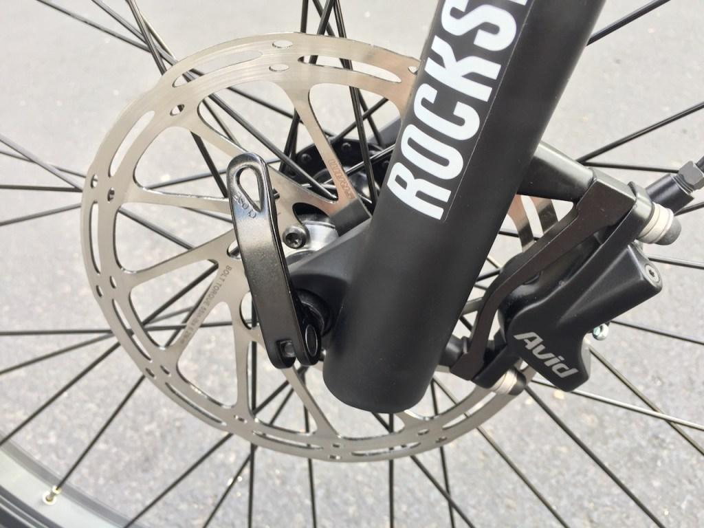 ProdecoTech Phantom XR electric bike front avid disc brake