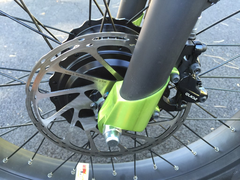 prodecotech rebel x9 sram guide front disc brake