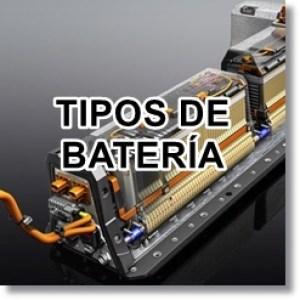 icono tipos bateria VE