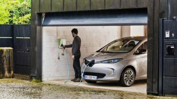 Renault ZOE y recarga domestica