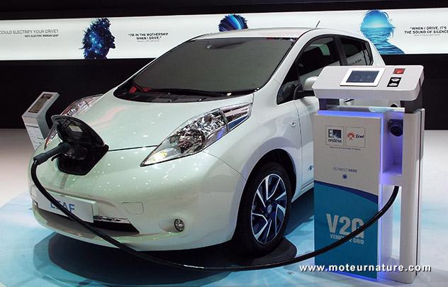 Nissan-V2G-Endesa